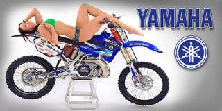 Dirtbike Chic 11   Honda Yamaha Suzuki Kawasaki Motorcycle Dirt Bike