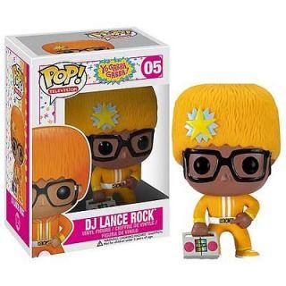 Yo Gabba Gabba DJ Lance Rock Pop Vinyl Figure
