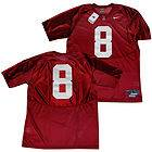 Alabama CRIMSON TIDE 8 J Jones Rivalry Jersey RED 3XL