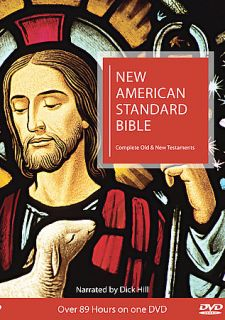 New American Standard Bible NASB Bible On DVD DVD, 2009, Complete Old