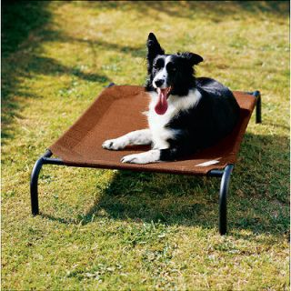 NEW Coolaroo Medium Elevated Steel Frame Pet Dog Bed   Terra Cotta