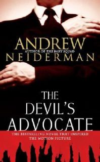 The Devils Advocate by Andrew Neiderman 1997, Paperback, Movie Tie In
