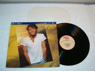 Andy Gibb Greatest Hits 1980 Pop LP, VG+, Vinyl