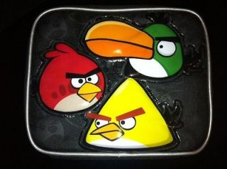 Rovio Angry Birds Black Red Bird And king Pig Insulated School Lunch