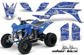 AMR RACING NEW ATV GRAPHIC OFF ROAD DECAL STICKER KIT YAMAHA YFZ 450