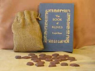 Viking Rune Divination Set Black Magic Occult Magick Grimoire Haunted