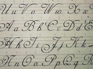 Script and Cursive Alphabets Tattoo Book  Script and Curs...