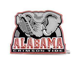 Alabama Crimson Tide Elephant Logo Lapel Pin