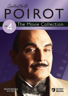 Agatha Christies Poirot The Movie Collection   Set 4 DVD, 2009, 3