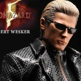 HOT TOYS BIOHAZARD 5 ALBERT WESKER MIDNIGHT RESIDENT EVIL FIGURE SA