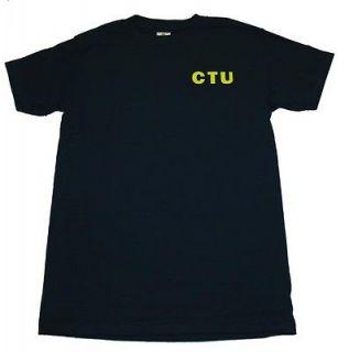 24 Twenty Four Jack Bauer Counter Terrorist Unit CTU T Shirt Tee
