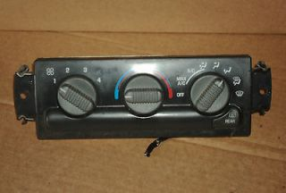 1998   2005 Chevy Blazer Jimmy AC / Heater control manual control