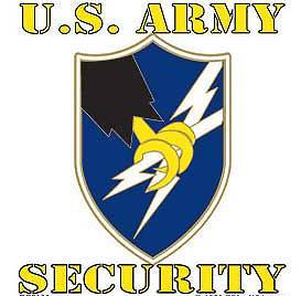 ASA ARMY SECURITY AGENCY MILITARY CAR WINDOW DECAL