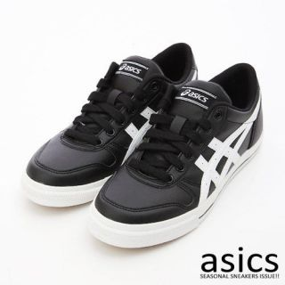 BN ASICS Aaron Casual Shoes Black/White #88 (H934Y 9001)