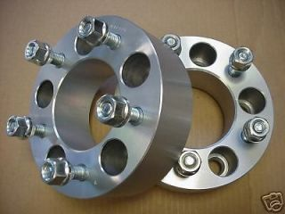 2pc CHEVY GMC 5X4.75 Wheel Adapters Spacers 2.50 Inch