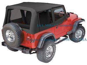 Soft Top Storage Hanger 07 13 Jeep Wrangler Jk 4 Door