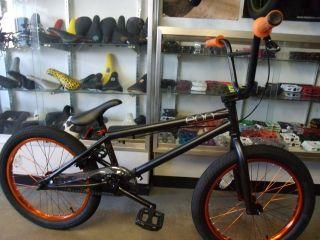 orange bmx bike in BMX Bikes