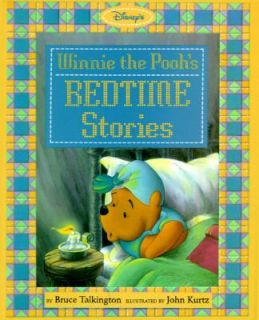 Winnie the Poohs Bedtime Stories by Bruce Talkington 1994, Hardcover