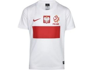 Poland brand new Nike boys Stadium Shirt 12 13 Polish Euro 2012 jersey