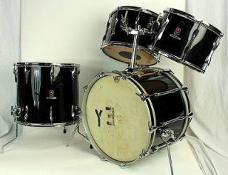 Premier Resonator Drum Set 20,13,14,16 Tom Floor Bass 70s Birch
