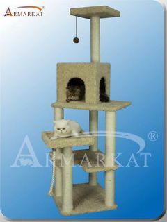 Style~Armarkat cat tree furniture condo scratching post house A6902