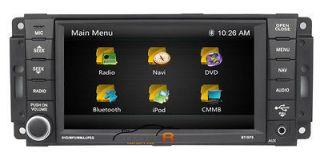 Dodge RAM 2500 In dash DVD GPS Navigation Radio Deck Stereo BT Truck