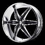 24 Inch Chrome Wheels Rims Chevy Truck Silverado 1500 Tahoe Avalanche