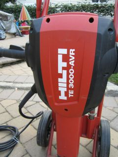 HILTI TE 3000 AVR BREAKER 120 V BRAND NEW ,MODEL 2012 , L@@K FAST