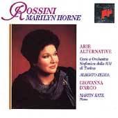 Gioacchino Rossini Arie Alternative by Marilyn Horne, Ermanno Molinaro