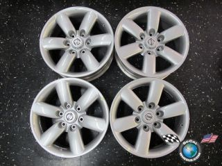 Four 08 10 Nissan Titan Armada Factory 18 Wheels OEM Rims 62493
