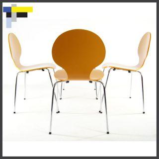 Retro Danish Modern Design Arne Jacobsen Style Dining Ant Chairs 1950s