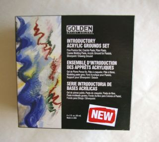 Golden Artist Introductory Acrylic Grounds Set 6 pc