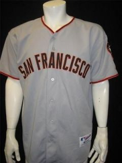 Authentic San Francisco Giants Adult 44 MLB Baseball Jersey RUSSELL
