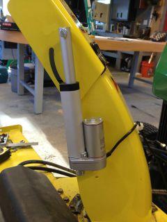John Deere 47 Snowblower rower electronic chute control mod 425 445