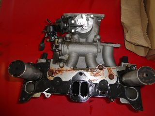 gato performance intake manifold with a weldon electric fuel