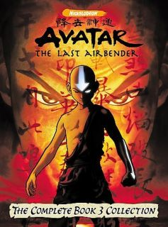 Avatar   The Last Airbender   The Complete Book 3 Fire (DVD, 2008)