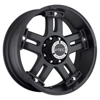 17 inch V tec Warlord Black wheels rims 5x135 +25 / 97 03 Ford F150