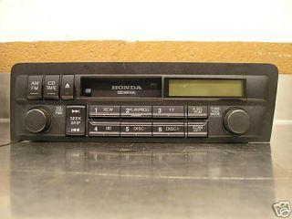 94 95 OEM Honda Civic Radio Cassette Tape Player 39101 SR3 A000 M1