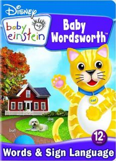 Disney Baby Einstein Baby Wordsworth   Around The House DVD, 2009