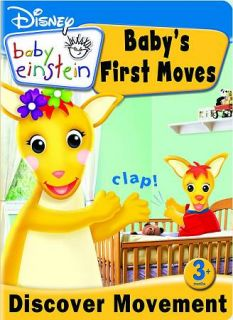 Disney Baby Einstein Babys First Moves DVD, 2009