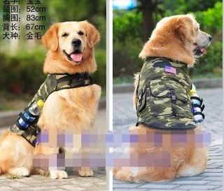 Camouflage Outward Hound Saddle Bags Large Dog Travel Hiking Backpacks