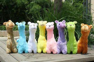 Animal Alpaca Stuffed Short Plush Cushion Pillow Doll Toy 8 option