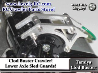 AXLE SLED GUARD ** TAMIYA CLOD BUSTER ** RC ROCK CRAWLER TRUCK PARTS