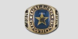 Dallas Cowboys Large Classic Ring by Balfour