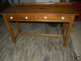 FREE SHIP CONANT BALL FURNITURE Pine Farm Side Table with drawers or