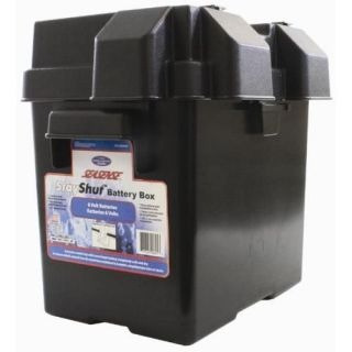 Seasense Stay Shut Boat Golf Cart Battery Box 6 Volt #50090641