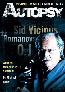 Autopsy Postmortem with Dr. Michael Baden DVD, 2008