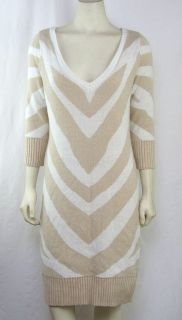 Baby Phat NEW Plus Size 1X/14W/16W White/Gold Designer Knit Sweater