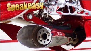 Voodoo Custom Sportbike Motorcycle Speakeasy Variable Exhaust Insert