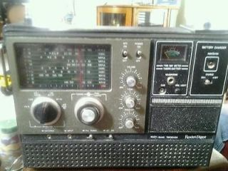 Vintage readers digest multi band radio model rda 127